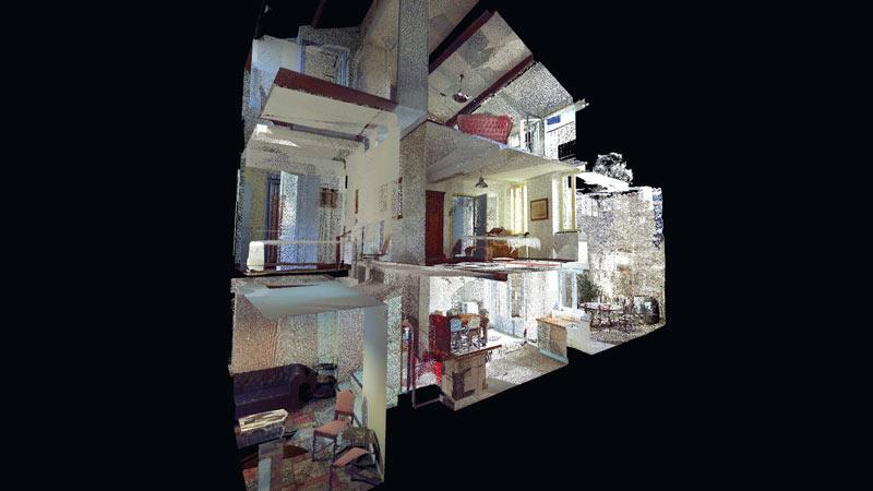 8 RUE PONTUS DE LA GARDIE – medieval village house scanned